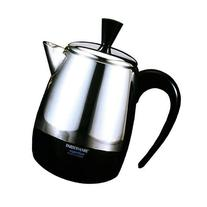 4-Cup stainless steel Percolator, Automatically switches,