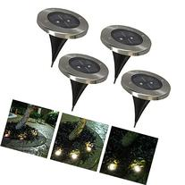 Stainless Steel Outdoor Solar Powered LED Ground Light