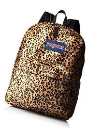 JanSport High Stakes Backpack, Caramel Leopard