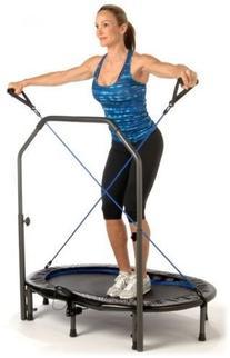 New Stamina Avari Oval Jogger Trampoline w/Padded Handlebar