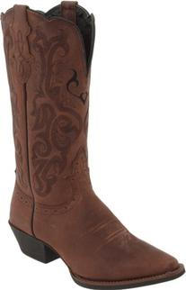 "Justin Boots Women's Stampede Collection 12"" Boot Narrow"