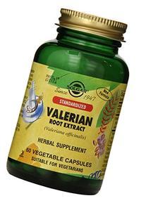 Solgar Standardized Valerian Root Extract Vegetable Capsules