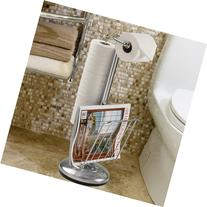Better Living Products Toilet Caddy Tissue Dispenser with