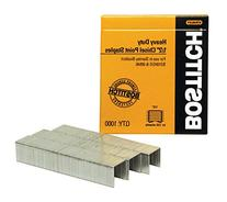 Stanley Bostitch Products - Stanley Bostitch - Heavy-Duty Staples, 1/2 Leg, 100 Strip Count, 1000/Box - Sold As 1 Box - Premium-quality carbon steel