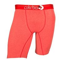 Ethika Mens The Staple Heathers Boxers Underwear Large Red