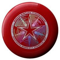 Discraft 175 gram Ultra Star Sport Disc, Red