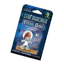 Star Munchkin Cosmic Demo Card Game SJG4252 Steve Jackson