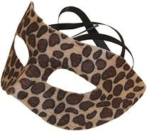 Loftus International Star Power Spotted Cheetah Half Mask, Brown, One Size/6.5 x 3.5
