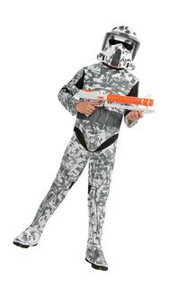 Star Wars The Clone Wars, Child's Costume And Mask, Arf