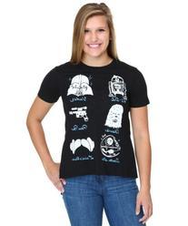 Juniors Star Wars Doodles Hi Low T-Shirt