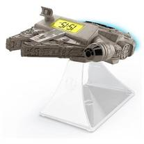 Star Wars EP VII Hero Vehicle Night Glow Alarm Clock w/sfx