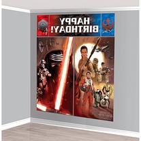 Amscan Star Wars Episode Vll Scene Setters Wall Decorating