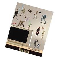 Star Wars Episodes 1 - 3 - Peel and Stick Wall Decal