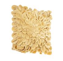 Brentwood Starburt Petals 16-Inch Pillow, Gold