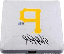 Starling Marte Pittsburgh Pirates Autographed Mini Base -