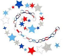 Meri Meri 45-1599 Stars and Stripes Mini Garland Novelty