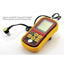 State of the Art Digital Ultrasonic Thickness Gauge w/ Sound