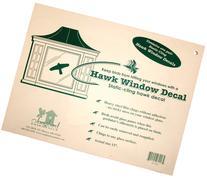 Static Cling Window Hawk - Replaces the VIHAWK - 2 Pack