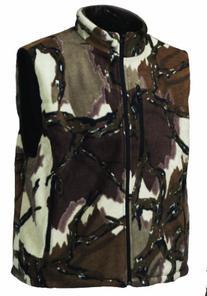 Predator Camo Men's Stealth Fleece Vest, Fall Gray, X-Large