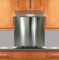 "Stainless Steel Backsplash 30"" x 30"" 304 #4"