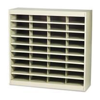 -- Steel/Fiberboard E-Z Stor Sorter, 36 Sections, 37 1/2 x