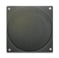 80mm Steel Mesh Filter / Grill Black