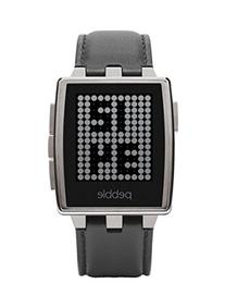 Pebble Steel Smartwatch Stainless