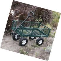 ARKSEN Steel Utility Garden Cart with Folding Sides, 660-