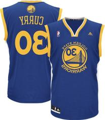 Stephen Curry Golden State Warriors Blue NBA Youth