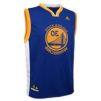NBA Youth 8-20 Golden State Warriors Curry Replica Road
