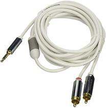 Monoprice 109301 10-Feet Stereo Male to RCA Stereo Male Gold