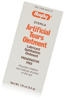 Rugby Sterile Artificial Tears Ointment 3.5gm 12pk