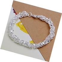 Silver plated Bracelet Birthday gift Sterling Jewelry 8.3