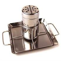 Steven Raichlen Stainless Beer Can Chicken Roaster with Drip