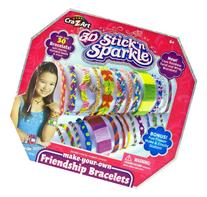 Cra-Z-Art Stick N Sparkle Make Your Own Friendship Bracelet