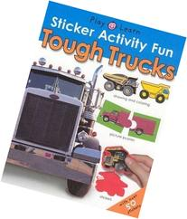 Sticker Activity Fun - Tough Trucks