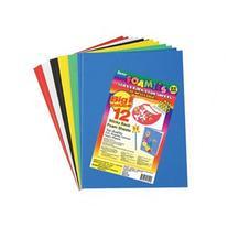 Sticky Back Foam Sheets 9X12 12/Pkg-Basic Colors