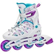 Roller Derby Girl's Stinger 5.2 Adjustable Inline Skate,