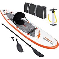 Blue Wave Sports Stingray Inflatable Stand Up Paddleboard