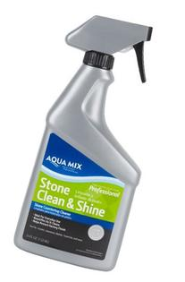 Aqua Mix 24-Ounce Stone Clean and Shine Spray Bottle