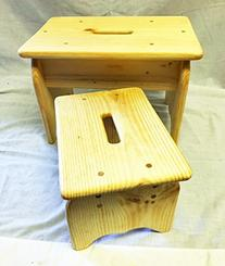 Step Stool Solid Pine wood your choice of sizes