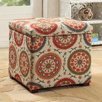 HomePop Fashion Storage Ottoman I