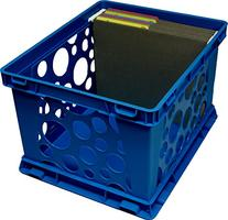 Storex Large Storage and Transport File Crate, 17.25 x 14.25