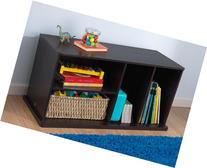 Storage Unit With Shelves - Espresso