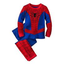 Disney Store Deluxe Spiderman Spider Man PJ Pajamas Boys