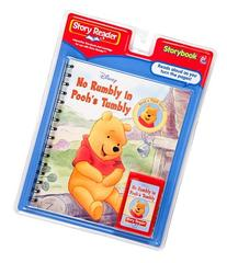 Story Reader Disney Book and Cartridge: No Rumbly in Pooh's