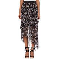 Zimmermann Women's Stranded Floral Silk Tiered Skirt
