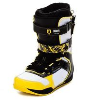Ride Strapper Keeper Snowboard Boots Yellow Mens Sz 9.5