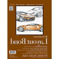 "Strathmore Layout Bond Paper Pad 9""X12""-16Lb 50 Sheets"