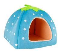 Leegoal Strawberry Small Cotton Soft Dog Cat Pet Bed House
